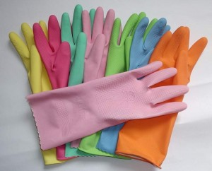 ruber gloves for nails